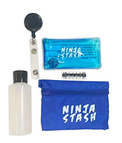 Ninja Stash – Hidden Detachable Zipper Pouch...
