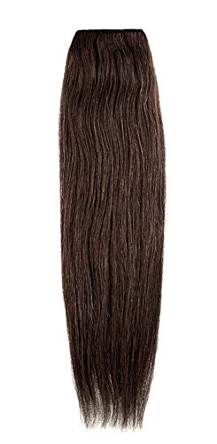 American Dream Remy 100% cheveux humains 35,6 cm soyeuse droite Trame Couleur 4B – Tabac