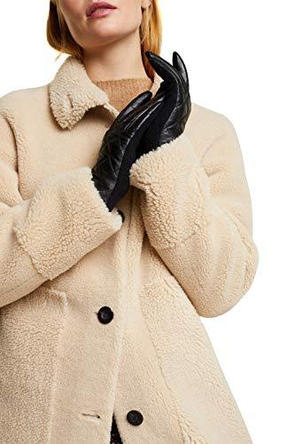 ESPRIT Accessoires Damen 100EA1R325 Winter-Handschuhe, 001/BLACK, M