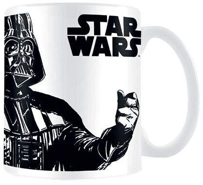 Star Wars You underestimate the Power of coffee Unisex Taza Blanco, cerámica, 0,3 l