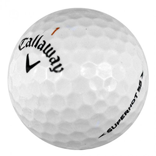 Callaway Superhot 55 Mint Quality Golf Ball (Pack of 24)