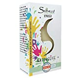 Skineco Kinder Seife mit Ziegenmilch, Handgemacht im Kaltverfahren (1 Stück)