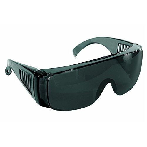 Occhiali protettivi 2010S monolente a mascherina grigi