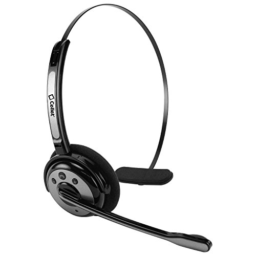 New Cellet Black Wireless Headset with Boom Microphone Compatible with Samsung Galaxy S20