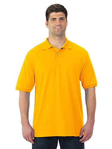 """Jerzees 50/50 Jersey Knit Polo with SpotShieldâ""""¢ Stain Resistance Mens"""