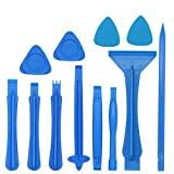 12Pcs Professional Phone Screen Opening Pry Tool Repair Kit with Nylon Spudgers Scraper Plastic Triangle
