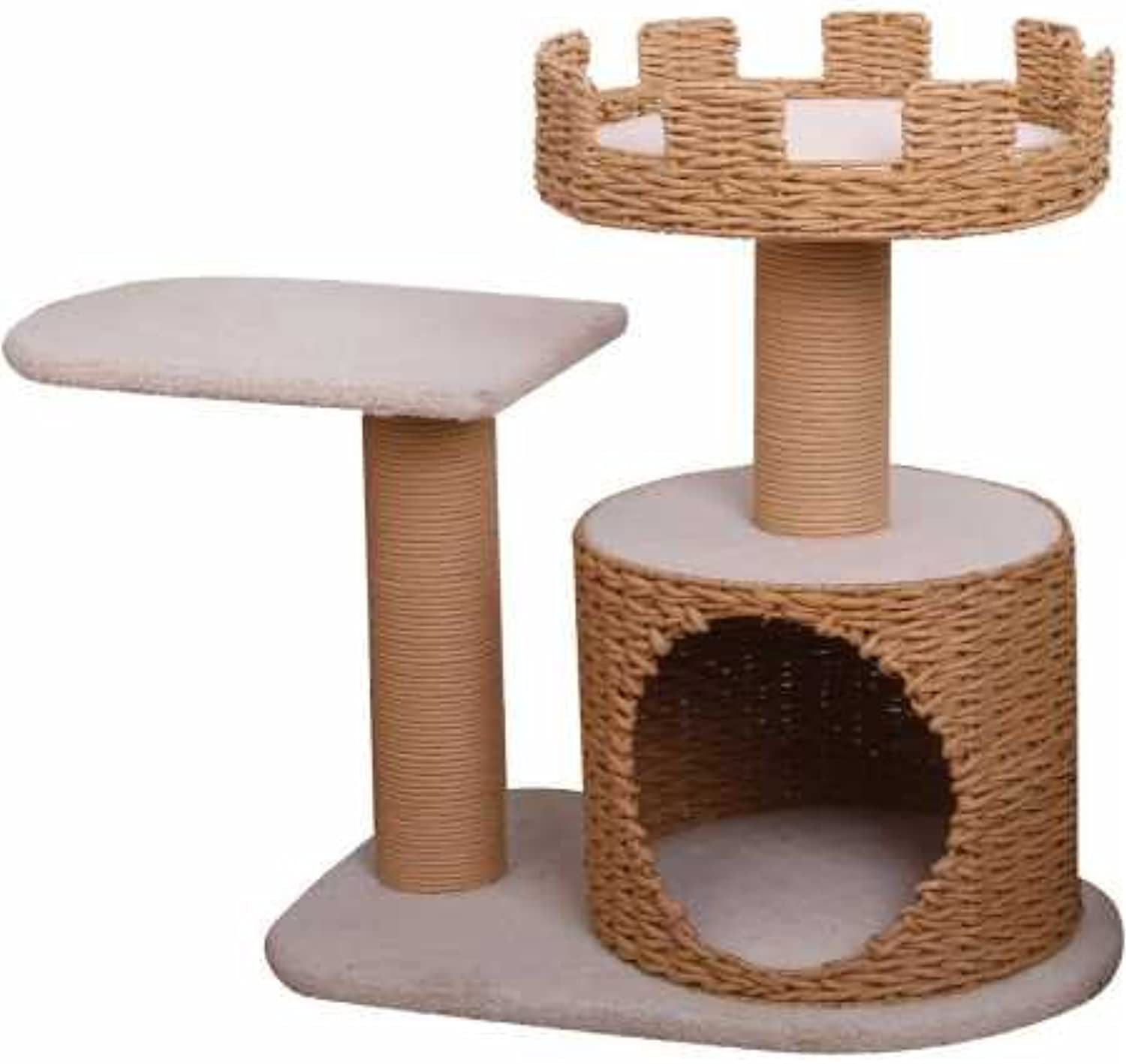 Crown  PetPals 3 Level Recycled Paper Made Cat Furniture, 31x16x27