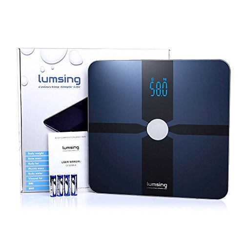 Check Out This Lumsing Bluetooth Smart Body Fat Scale Body Composition Monitor with Free App for iOS...
