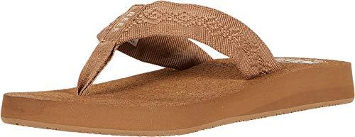 Reef Women's Sandy Sandals, Tan, 9