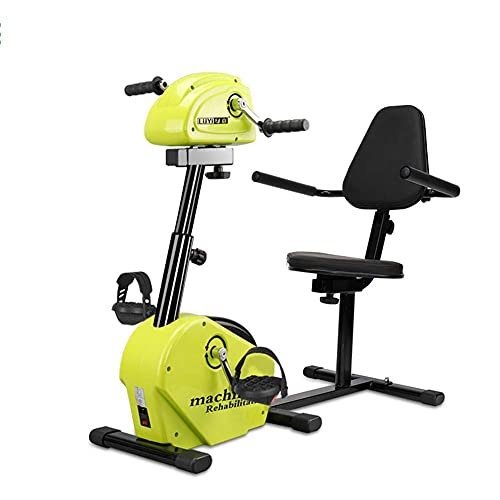 NMDCDH Electric Rehabilitation Exercise Bike, Upper And Lower Limb Bicycle Hand And Foot Pedal Exerciser Training Cycling Equipment with LCD Display and Remote Control