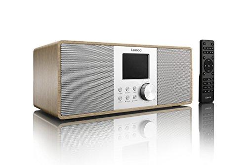 Lenco DIR-200 Internetradio - WiFi - DAB+ - USB - Holz