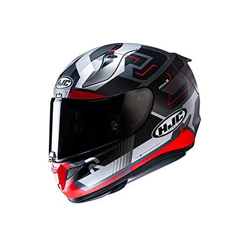Casco moto HJC RPHA 11 NECTUS MC1SF, Nero/Bianco/Rosso, XL