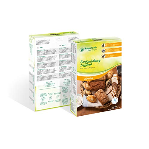Glutenfreie Backmischung Teffbrot | 3x400gr | Hanneforth