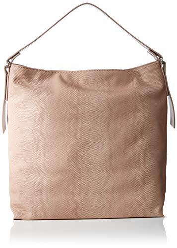 Esprit Accessoires Damen Tasha Hobo Schultertasche, Pink (Nude), 12x36x34 cm