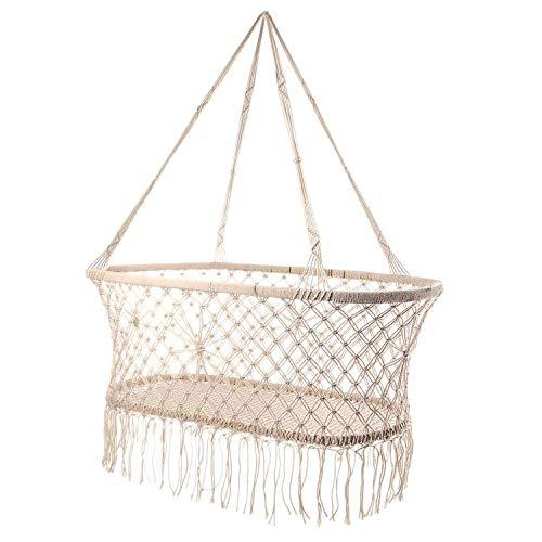 Babywiege, hängende Wiege hängende Stubenwagen Makramee 38,5