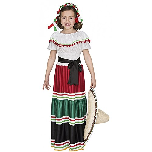 Partyklar Costume mexicain pour fille