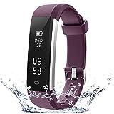COOLEAD Pulsera Actividad Mujer Hombre Reloj Inteligente Podómetro Monitor de Actividad Impermeable IP67 Fitness...