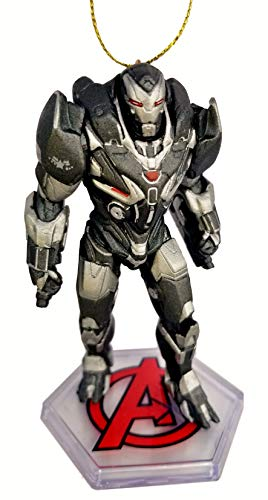 War Machine from Movie Endgame Figurine Holiday Christmas Tree Ornament - Limited Availability - New for 2019