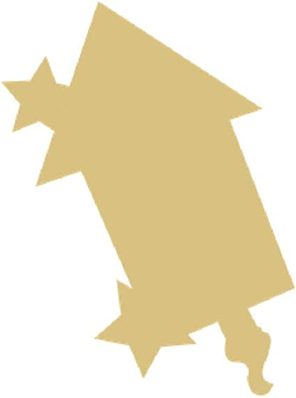 Flip Flop Style 1 Unfinished Wood Shape Cutout Variety Sizes USA Made Summer Decor
