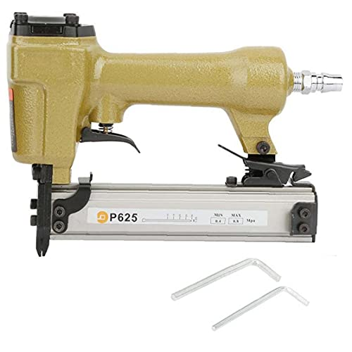 NaiCasy Aire Pin Clavadora Grapadora neumática P625 10-25mm Clavo de la Herramienta...