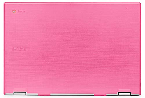 mCover Hard Shell Case for 2019 15.6' Acer Chromebook 15 CB315 Series (NOT Compatible with Older Acer chromebook C910 / CB5-971 / CB3-531 / CB515, etc) Laptop Computer (AC15-CB315-Pink)