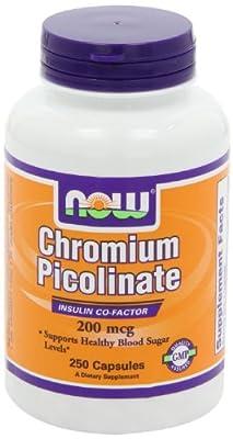 NOW Foods Chromium Picolinate 200mcg
