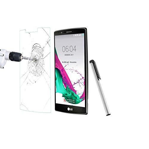 Oferta 2 en 1 protector de pantalla de cristal templado para LG...