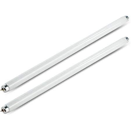Lot de 2 Ampoules Anti-Mouches 8 W T5 UV, Anti-Insectes électrique de Rechange pour Lampe UV T5 de 16 W, Anti-Insectes, Anti-Insectes et Anti-parasites à Domicile