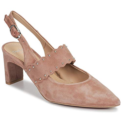 Perlato 11471-cam-blush Pumps Damen Rose - 40 - Pumps Shoes