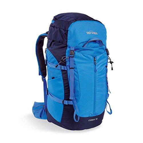 Tatonka Cebus 45 - Touren- und Kletterrucksack mit abnehmbarem Hüftgurt und Fronttasche - 45 Liter - Männer und Frauen - blau