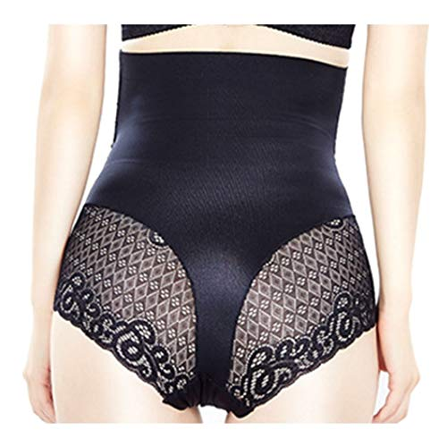 Women Butt Lifter Shapewear Women Body Shapewear Best Slim Waist Trainer Corset Seamless High Waist Butt Lifter Tummy Control Panty Pack of 3 Waist Trainer Body Shaper (Color : Black, Size : XL)