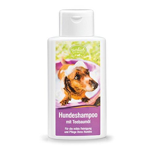 tierlieb Hundeshampoo mit Teebaumöl, Inhalt 250 ml