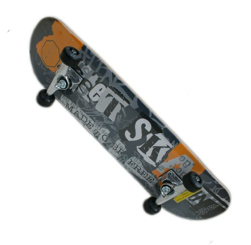 davtus 2in1 Skateboard und Helm als Set -Made to be FREE cool grey