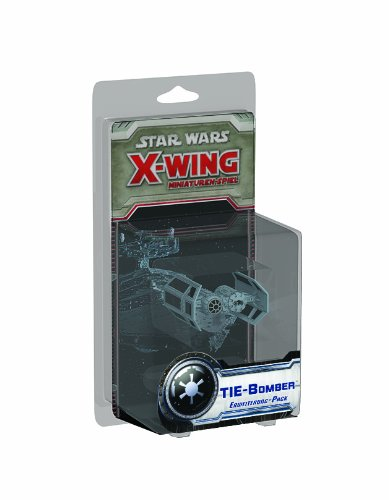 Asmodee HEI0412 - Star Wars X-Wing: Tie-Bomber - Erweiterung-Pack