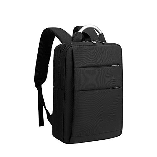 Travel Laptop Rucksack 14 Zoll mit Hartschalentaschen Wasserabweisende Business College Daypack Stilvolle Schule Laptop-Tasche für Männer/Frauen,Schwarz