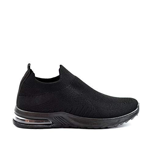 Zapatillas Deportivas Mujer Knit sin Cordones Super Adaptable