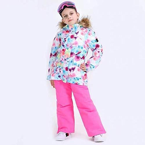 GkDDZH Skipak voor kinderen, snowboardjas voor jongens en meisjes, winddicht