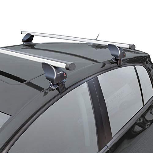 Twinny Load K02842503 Juego de Barras de Techo de Aluminio A03 Compatible con VW Bora/Golf IV