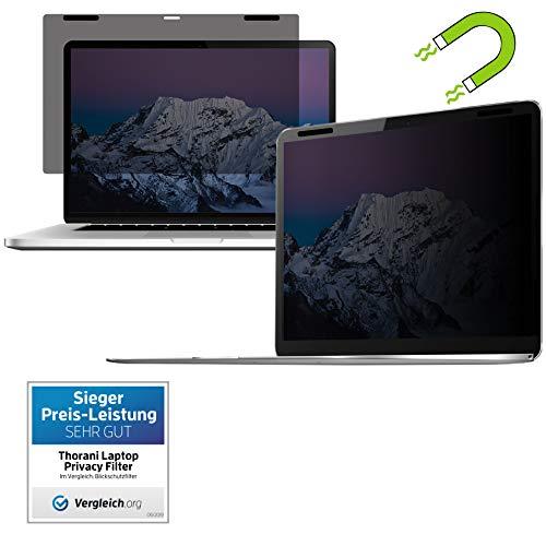 Thorani Privacy Filter I Blickschutz Folie I Sichtschutzfolie - kompatibel mit Apple MacBook Pro Retina 15 Zoll mit Magnet