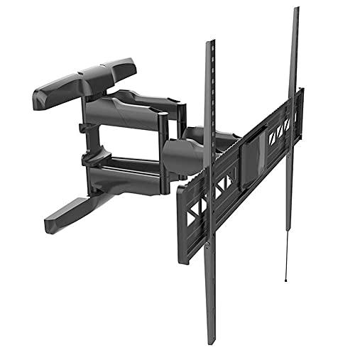 Equipo para el hogar Soporte para TV Soporte robusto de pared para TV Soporte para TV giratorio inclinable Máx.800X500 mm para pantallas planas curvas de plasma LCD LED de 47 84 pulgadas de hasta 6