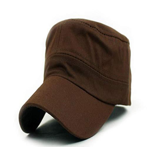 Cap Casquette de Baseball Snapback Classique Femmes Hommes Snapback Casquettes Vintage Hat Cap Baseball Unisexe Chapeaux F401Brown