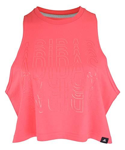adidas Women's Crop Crop Top PRIPNK Size S Pink