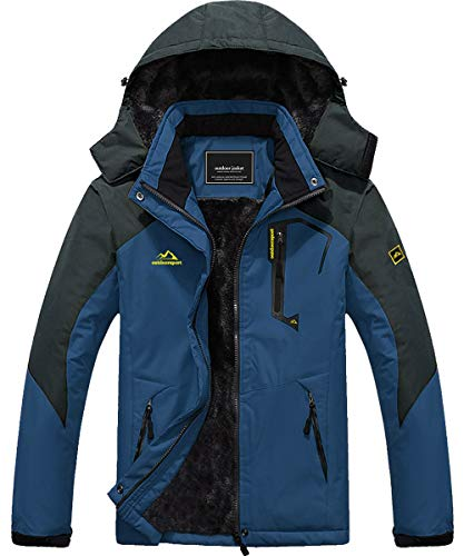 Mens Jacket Ski Jacket Parka Jacket Men Waterproof Jaket Fleece Jacket Snowboard Jacket Rain Jacket Winter Jacket Bomber Jacket Winter Coats for Men