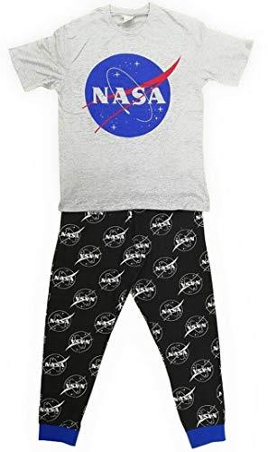 Pijama de algodón para hombre, tamaño pequeño a extragrande
