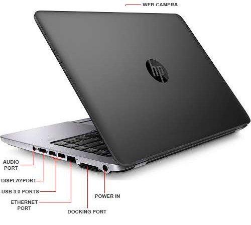HP EliteBook 840 G1 14-inch Ultrabook (Intel Core i5 4th Gen, 4GB Memory, 320GB HDD, WiFi, WebCam, Windows 10 Professional 64-bit) (Certified Refurbished)