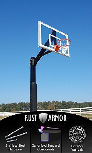 Pro Dunk Hercules Gold Tempered Glass with Rust Armor - Fixed Height...