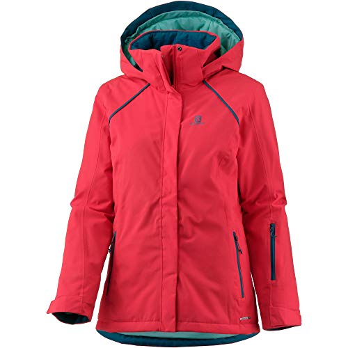 Salomon Damen STRIKE Skijacke rot M