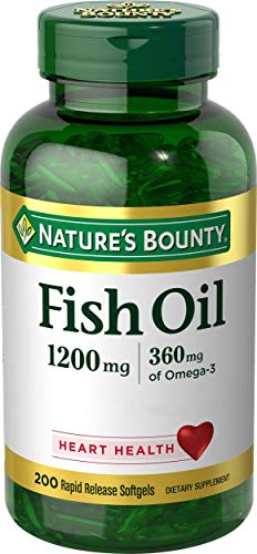 Nature's Bounty Fish Oil - Odor-Less 200 sgels
