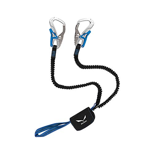 Salewa Ergo Core Set da Via Ferrata, Unisex – Adulto, Argento (Silver/Royal Blue), Taglia Unica