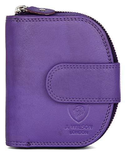 J. Wilson London, Portafogli Viola Purple medium
